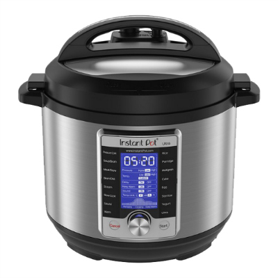 Instant Pot Ultra Electric Pressure Cooker, 6Qt 10-in-1