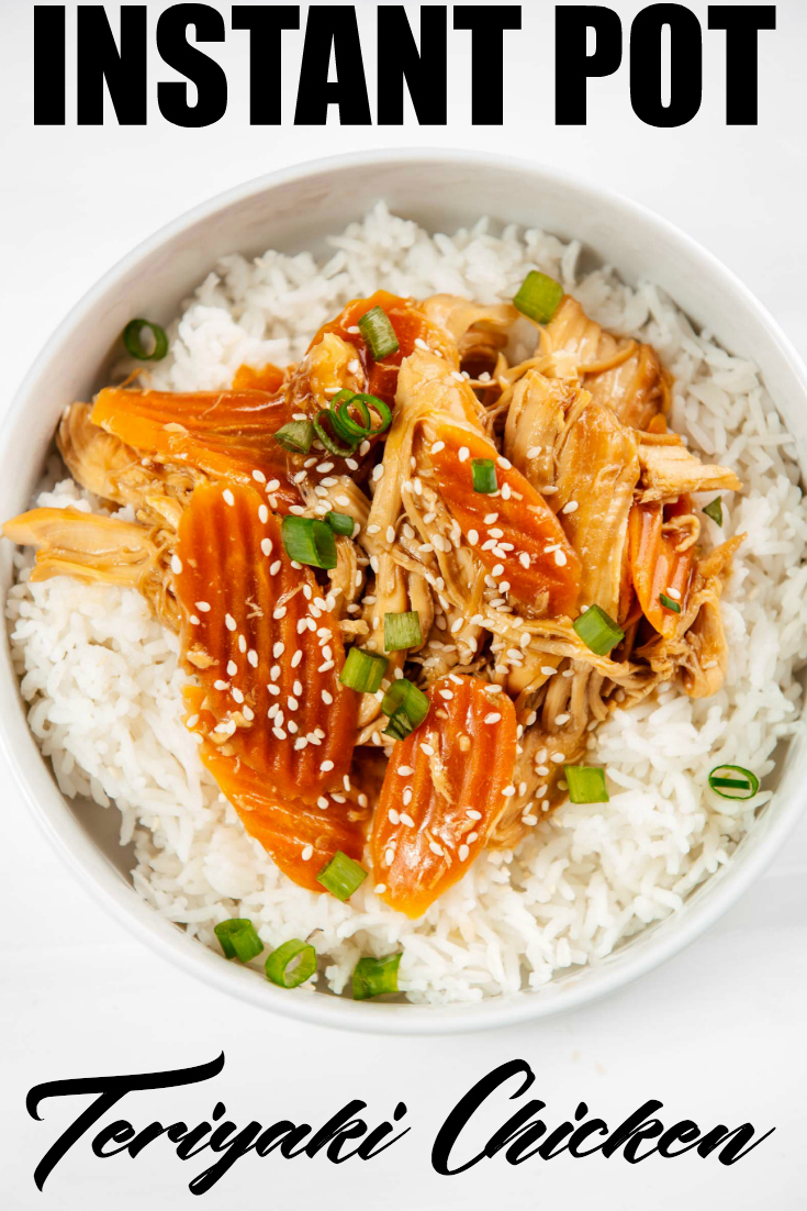 Whip up this flavourful Instant Pot Teriyaki Chicken recipe tonight and have a delicious meal in no time! #InstantPot #TeriyakiChicken #ChickenTeriyaki