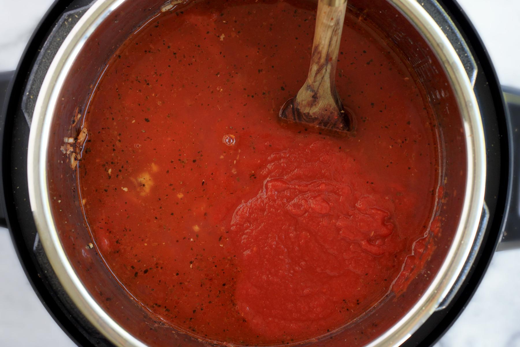 Instant Pot Italian Sausage Pasta