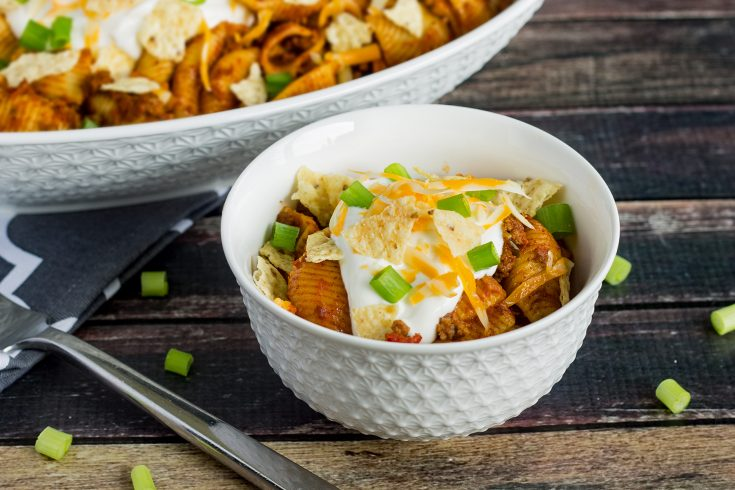 Instant Pot Cheesy Taco Pasta Recipe
