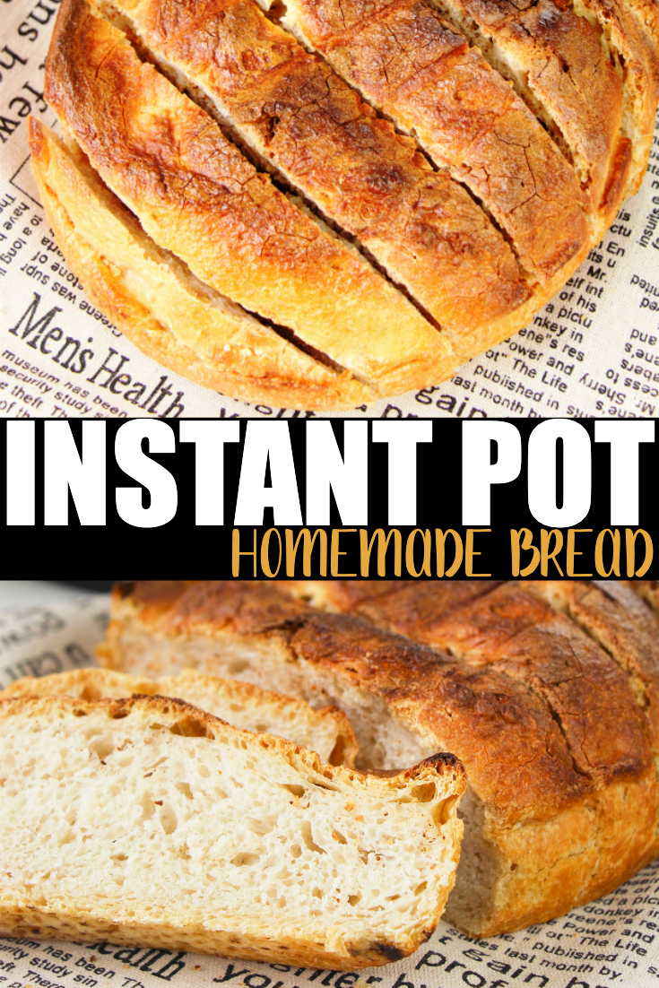 Instant Pot Homemade Bread